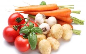 Натуральные овощи