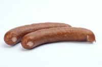 Домашняя полукопченая колбаса